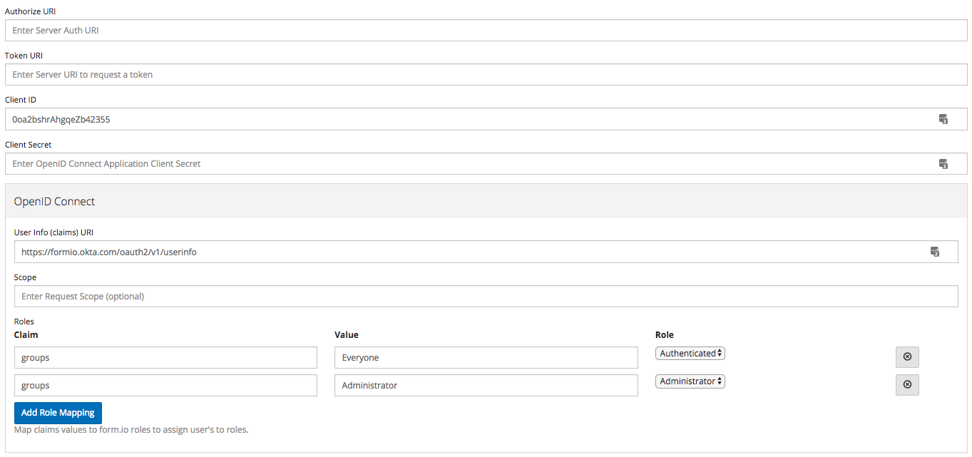 Form io Help | Developer Info