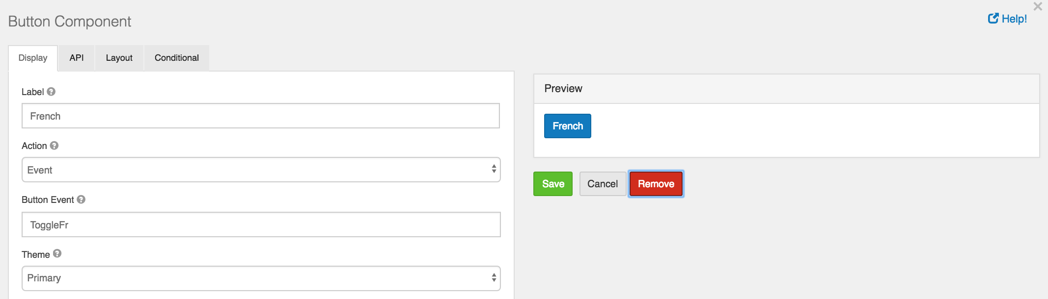 BOOTSTRAP TOGGLE BUTTON CHANGE EVENT - Form io Help   Tutorials