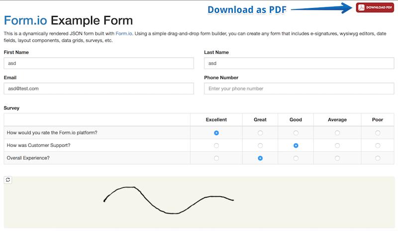 Form io Help | Integration Libraries
